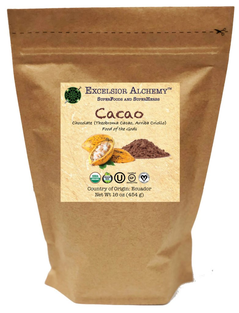 Organic Cacao powder is the nutrient-rich extract of pure chocolate beans. Our heirloom cacao is grown wild in high-elevation volcanic soil and ethically harvested using traditional hand-pick methods and sun drying process. It is one of Nature's fantastic superfoods.