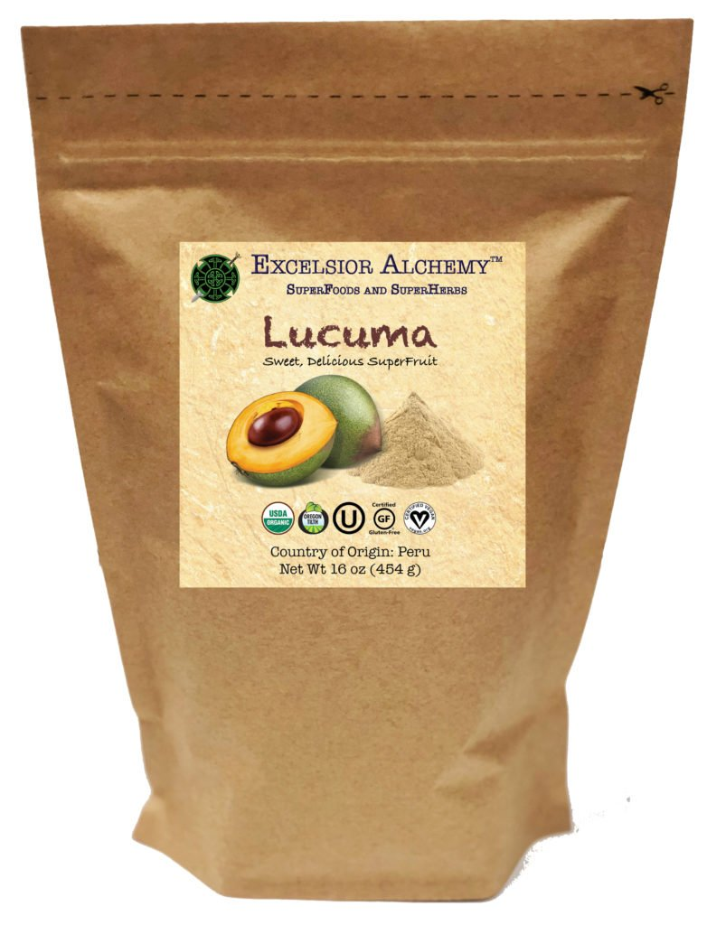 Organic Lucuma fruit is a creamy, sweet, nutrient-rich superfruit of the Pouteria lucuma tree native to Andean valleys of Peru. This fruit has been cultivated since 200 A.D. and grows at an altitude of 4,500 to 10,000 feet.