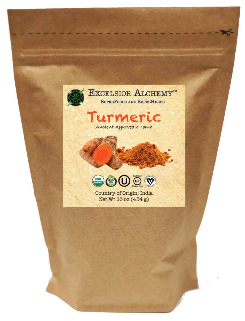 Organic Turmeric (Curcuma longa) is an ancient rhizome that has been revered in the Ayurvedic tradition for 4,000 years. The intense yellow-orange color indicates a rich nutritional phytochemistry.